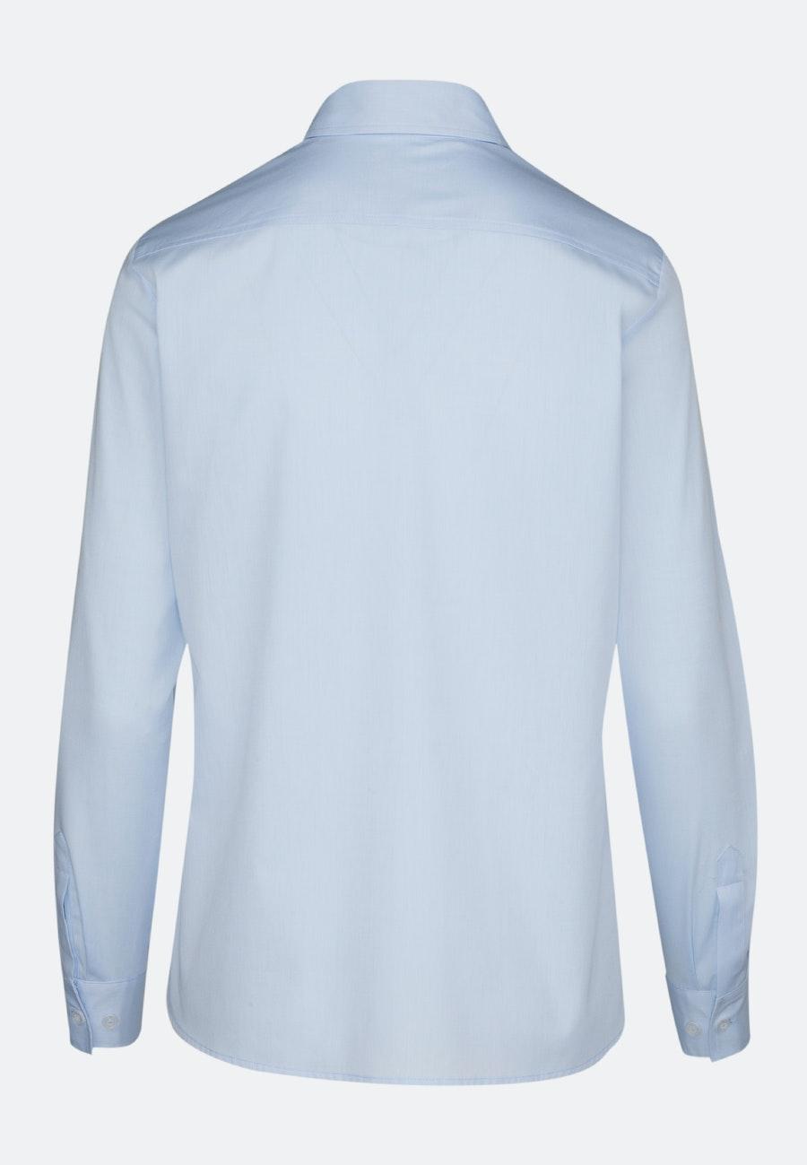 Twill Shirt Blouse made of 100% Cotton in Light blue    Seidensticker Onlineshop