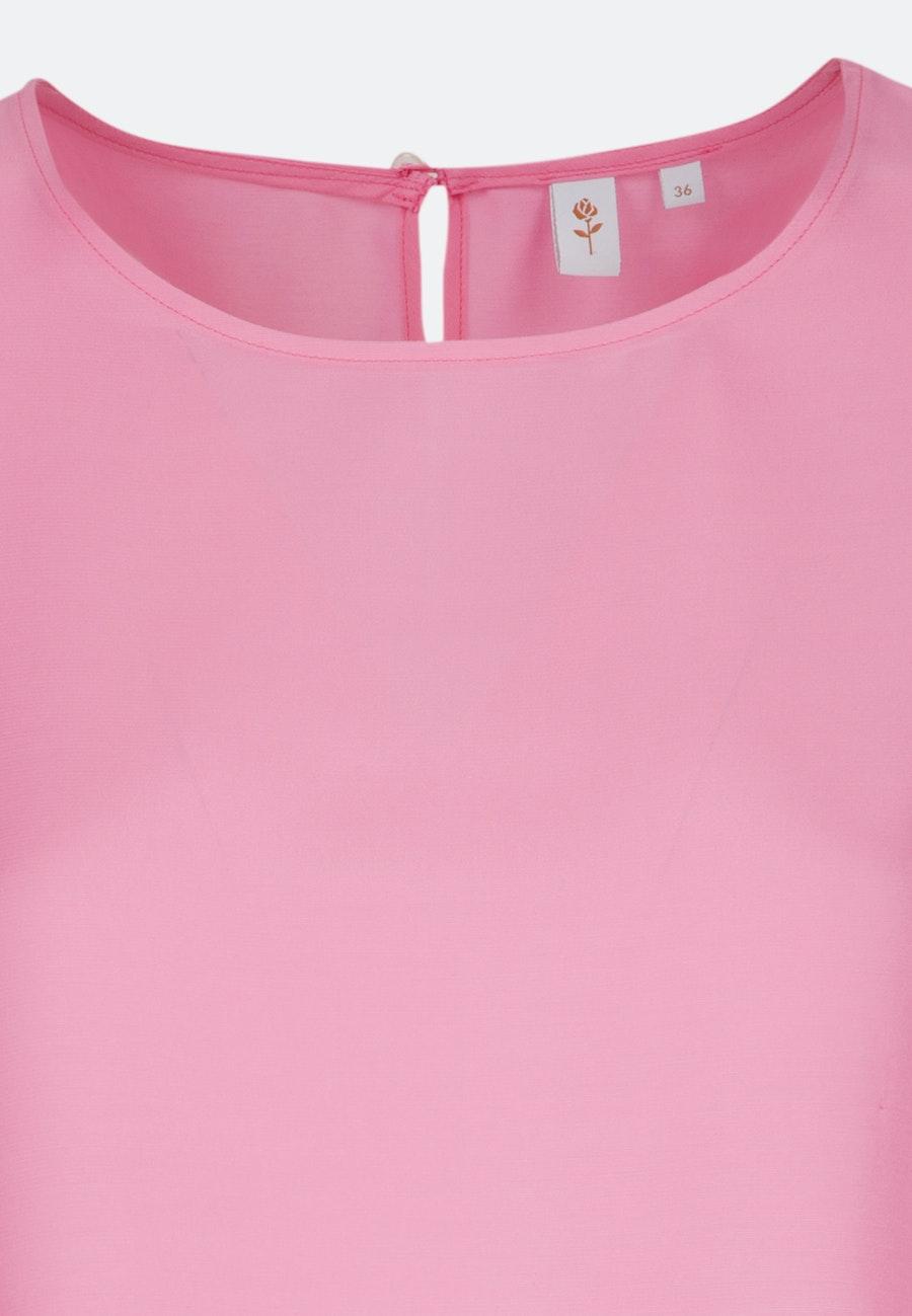 3/4 Arm Voile Shirtbluse aus 100% Viskose in Rosa/Pink    Seidensticker Onlineshop