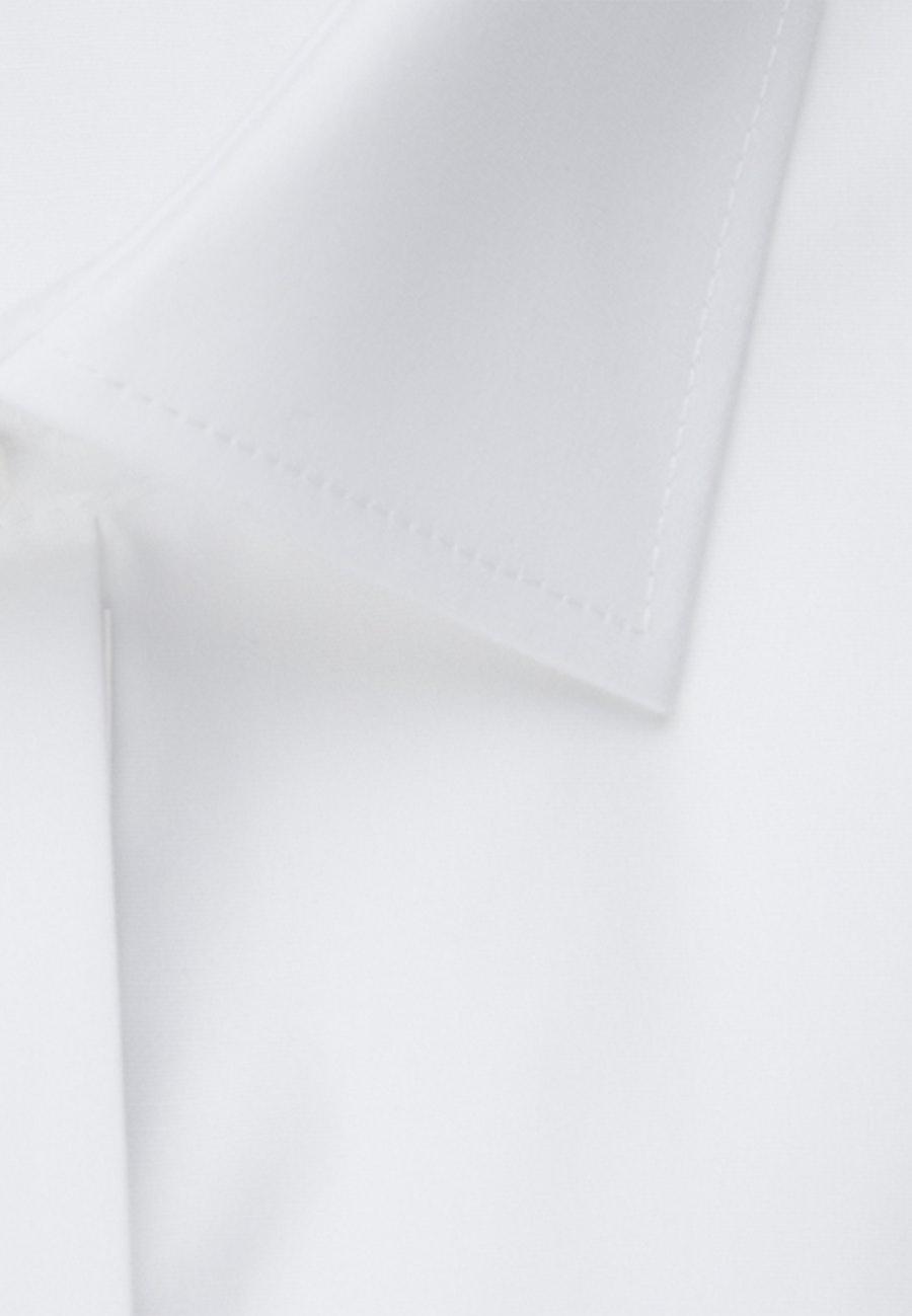 Non-iron Popeline Gala Shirt in Shaped with Kent-Collar in White |  Seidensticker Onlineshop
