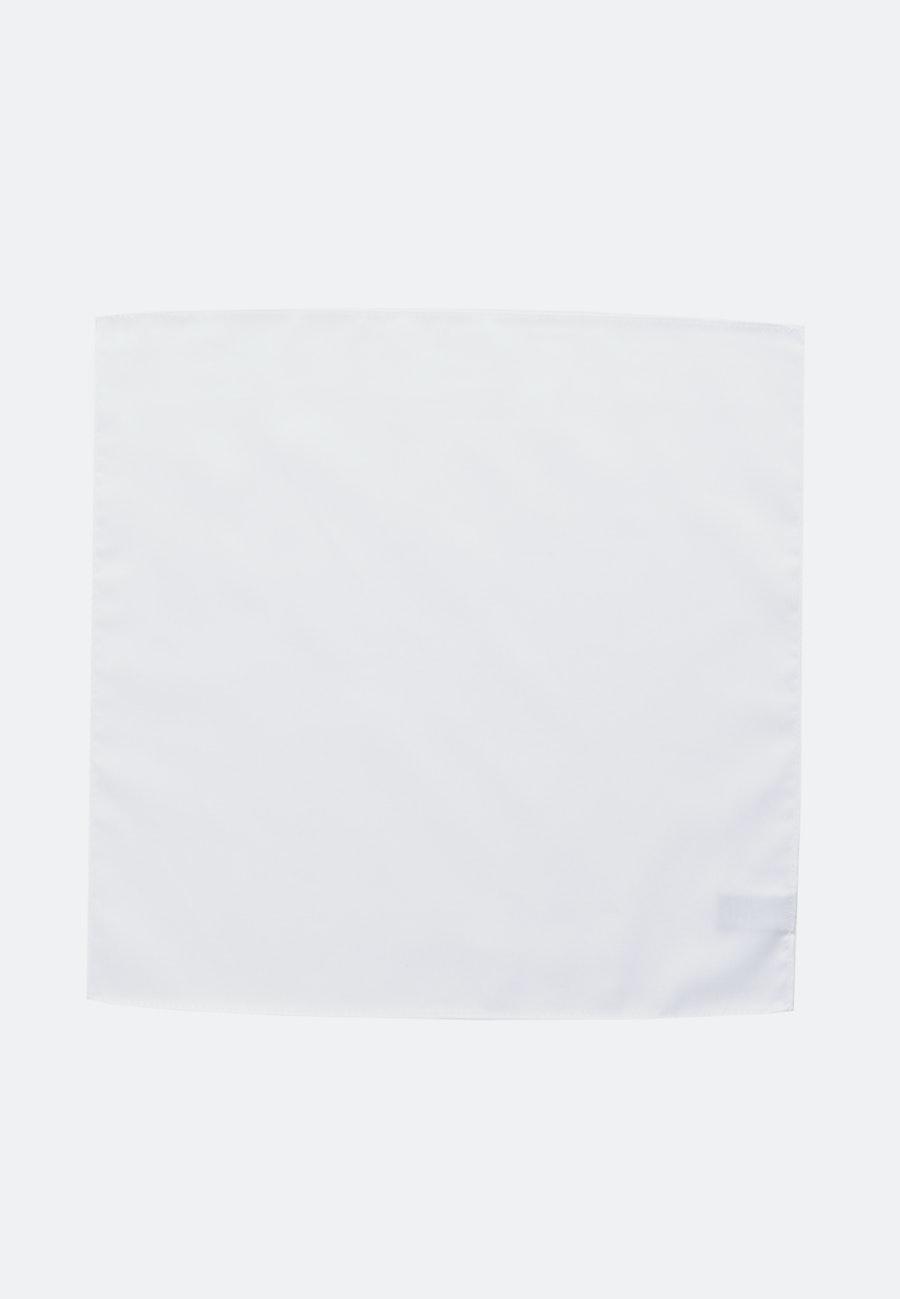Einstecktuch aus 100% Baumwolle in Weiß    Seidensticker Onlineshop