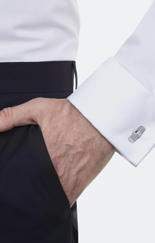 Manschettenknöpfe in Grau    Seidensticker Onlineshop