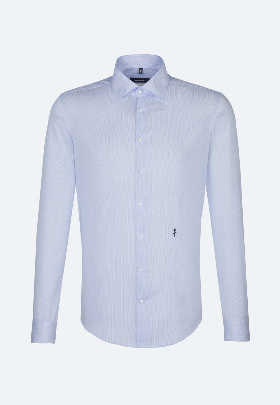 Non-iron Twill Business Shirt in X-Slim with Kent-Collar in Light blue |  Seidensticker Onlineshop
