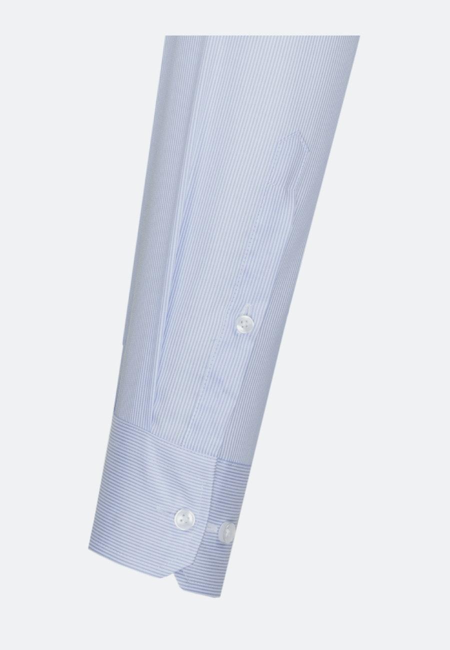 Bügelfreies Twill Business Hemd in X-Slim mit Kentkragen in Hellblau    Seidensticker Onlineshop