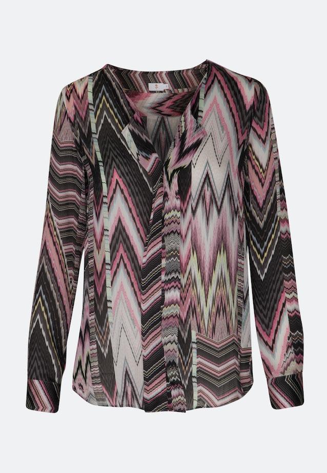 Voile Shirtbluse aus 100% Polyester in Rosa/Pink    Seidensticker Onlineshop