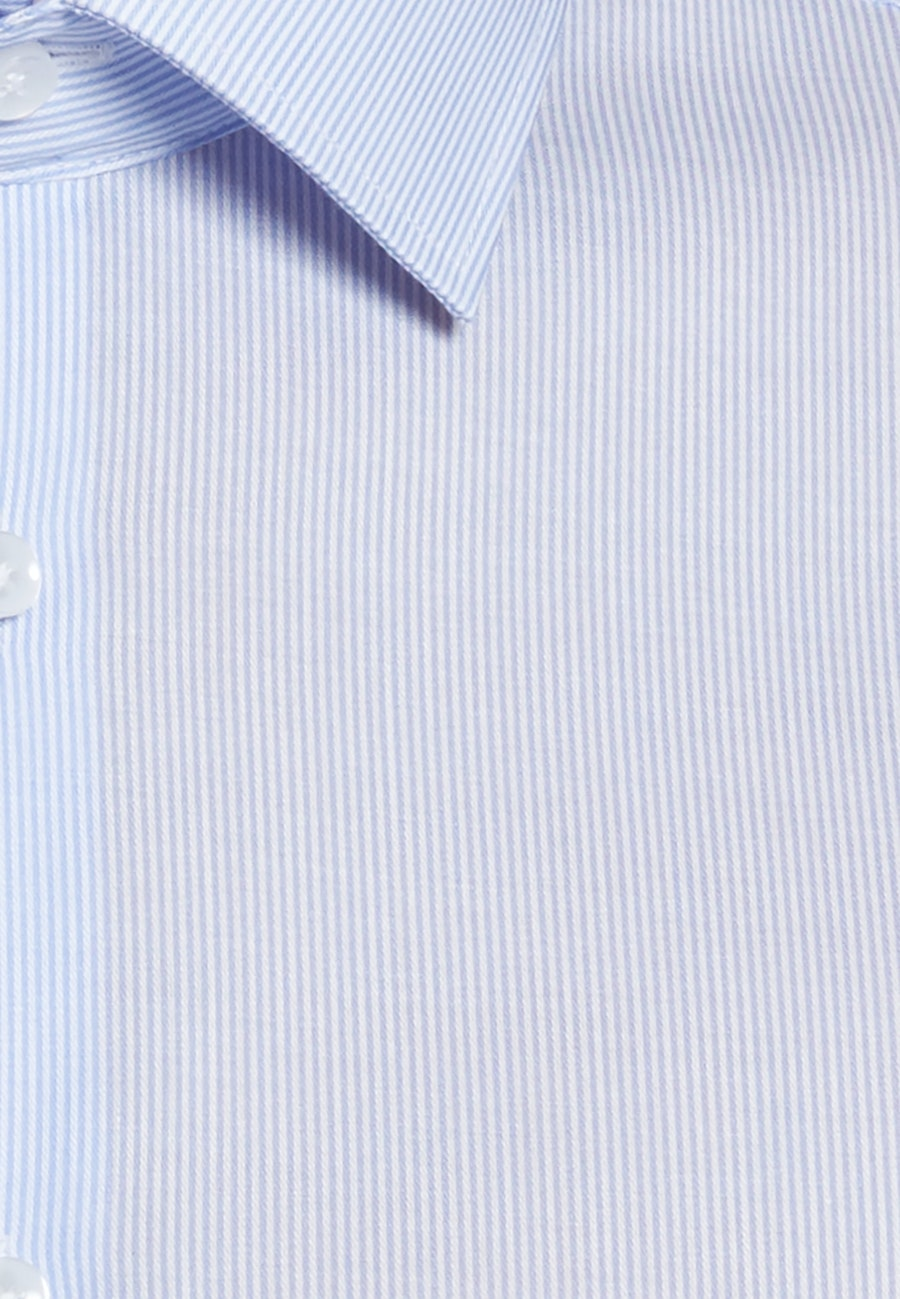 Non-iron Twill Business Shirt in Shaped with Kent-Collar in Light blue |  Seidensticker Onlineshop