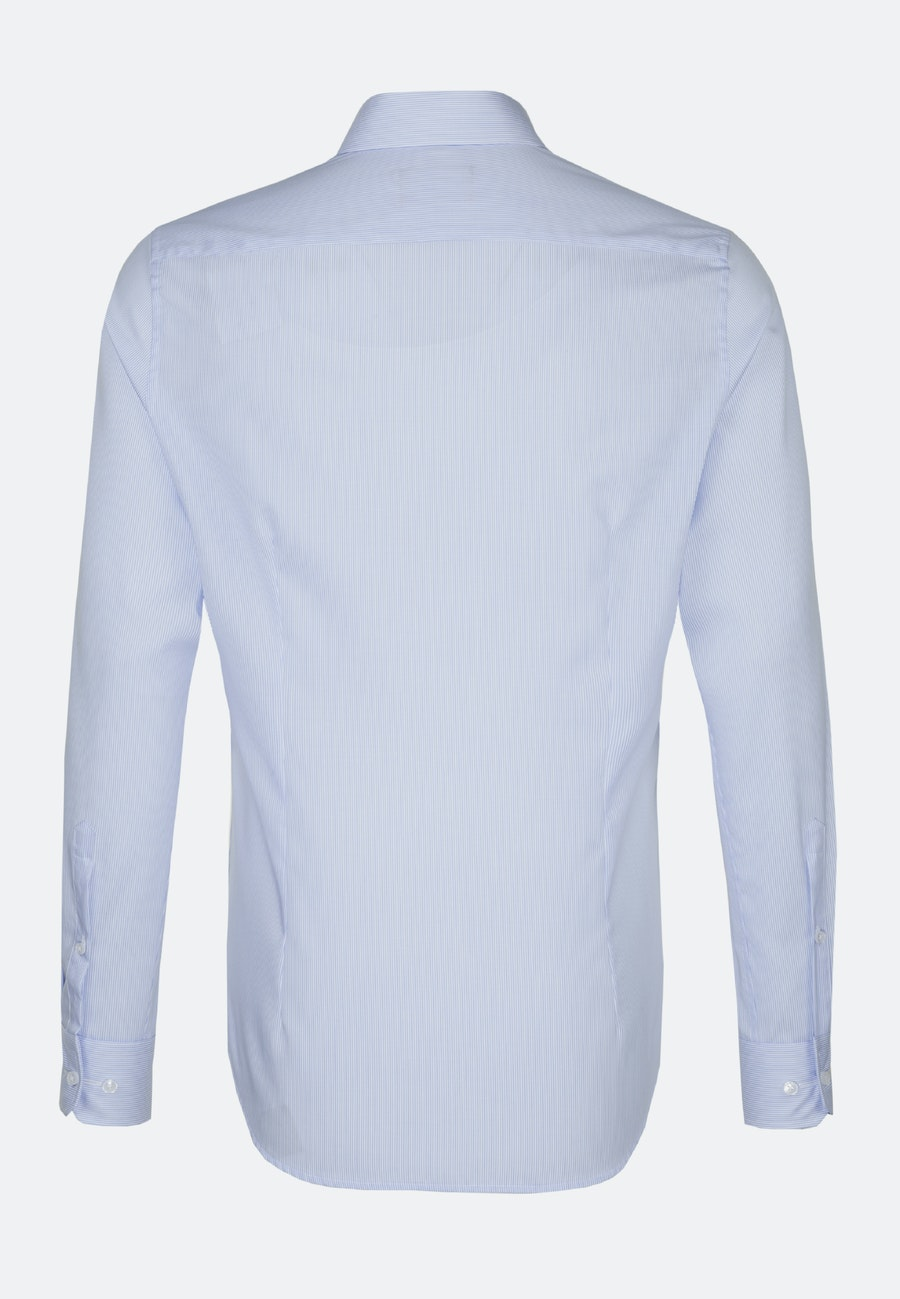 Non-iron Twill Business Shirt in Comfort with Kent-Collar in Light blue    Seidensticker Onlineshop