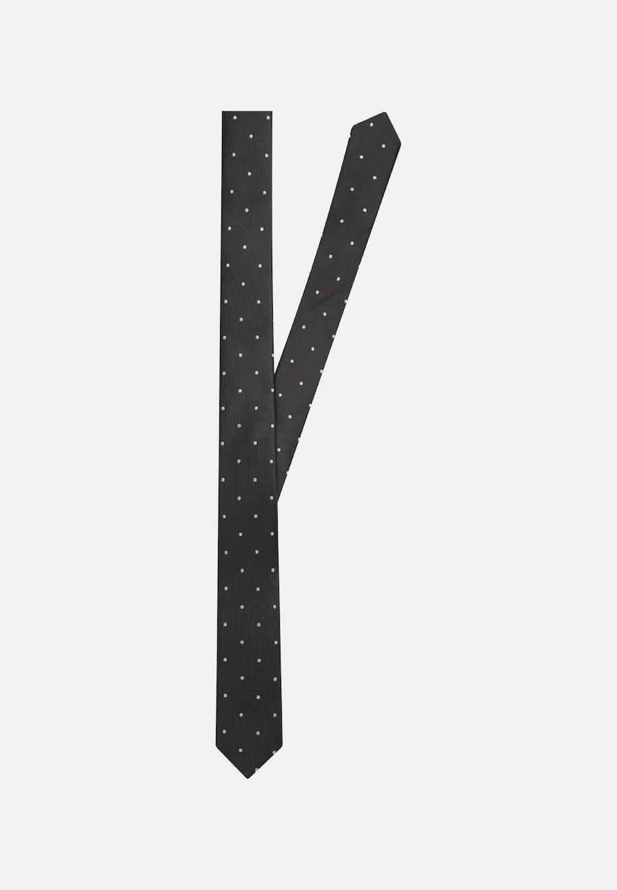 Krawatte aus 100% Seide 5 cm Breit in Schwarz |  Seidensticker Onlineshop