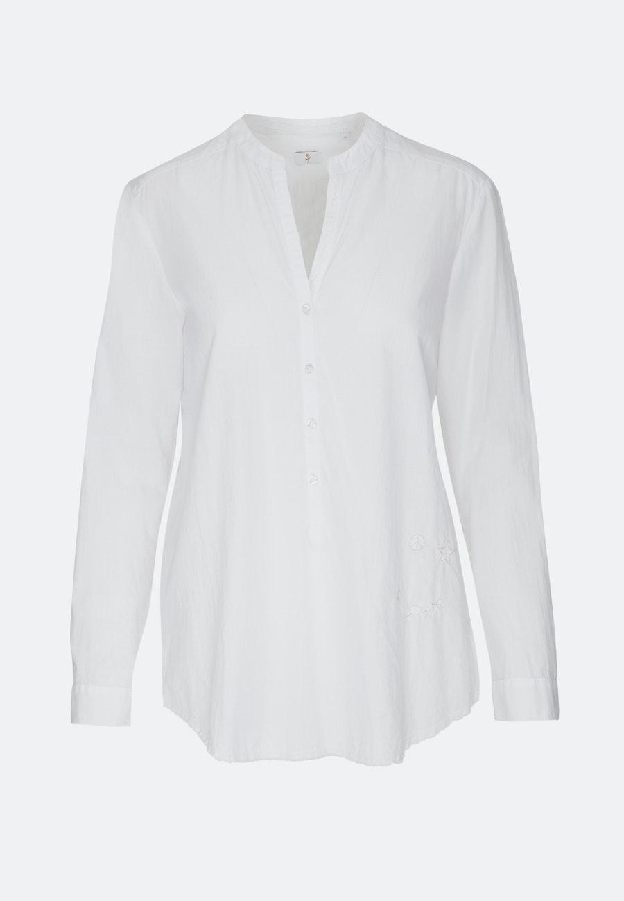 Voile Tunika aus 100% Baumwolle in Weiß |  Seidensticker Onlineshop