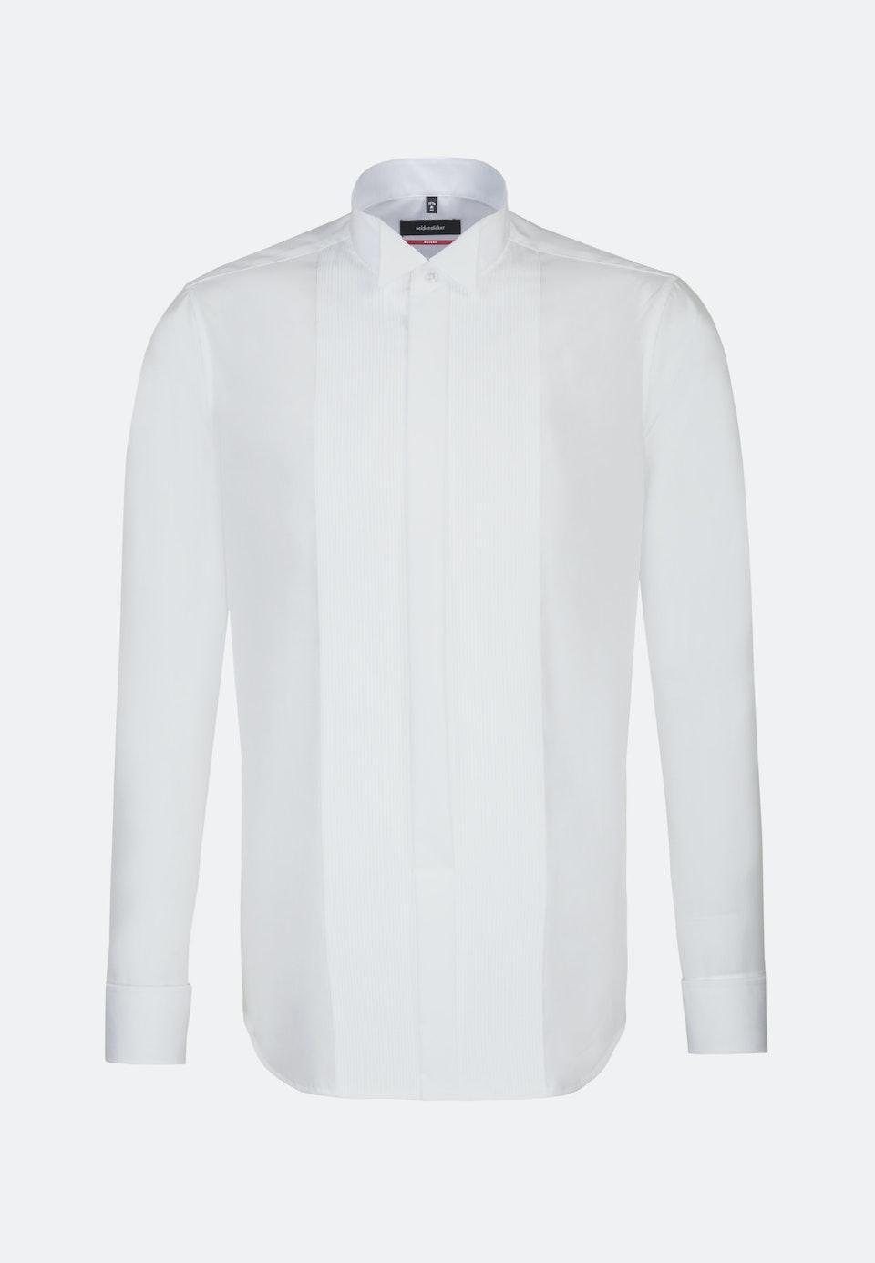 Non-iron Popeline Gala Shirt in Regular with Wing Collar in White |  Seidensticker Onlineshop