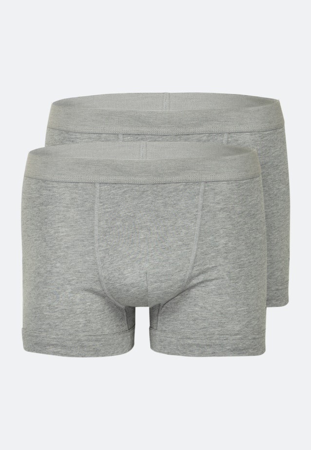 Two-Pack Boxershorts made of cotton blend in Grey |  Seidensticker Onlineshop
