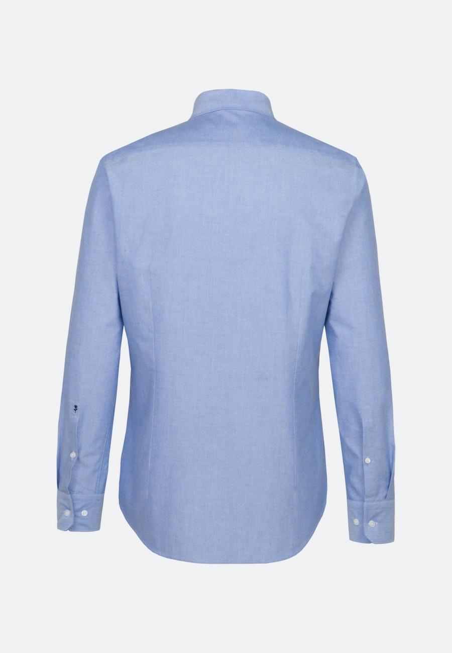 Oxfordhemd in Shaped mit Button-Down-Kragen in Hellblau |  Seidensticker Onlineshop