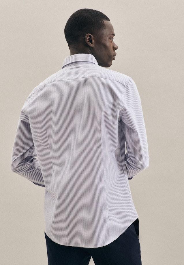 Oxford shirt in Slim with Button-Down-Collar in Light blue |  Seidensticker Onlineshop