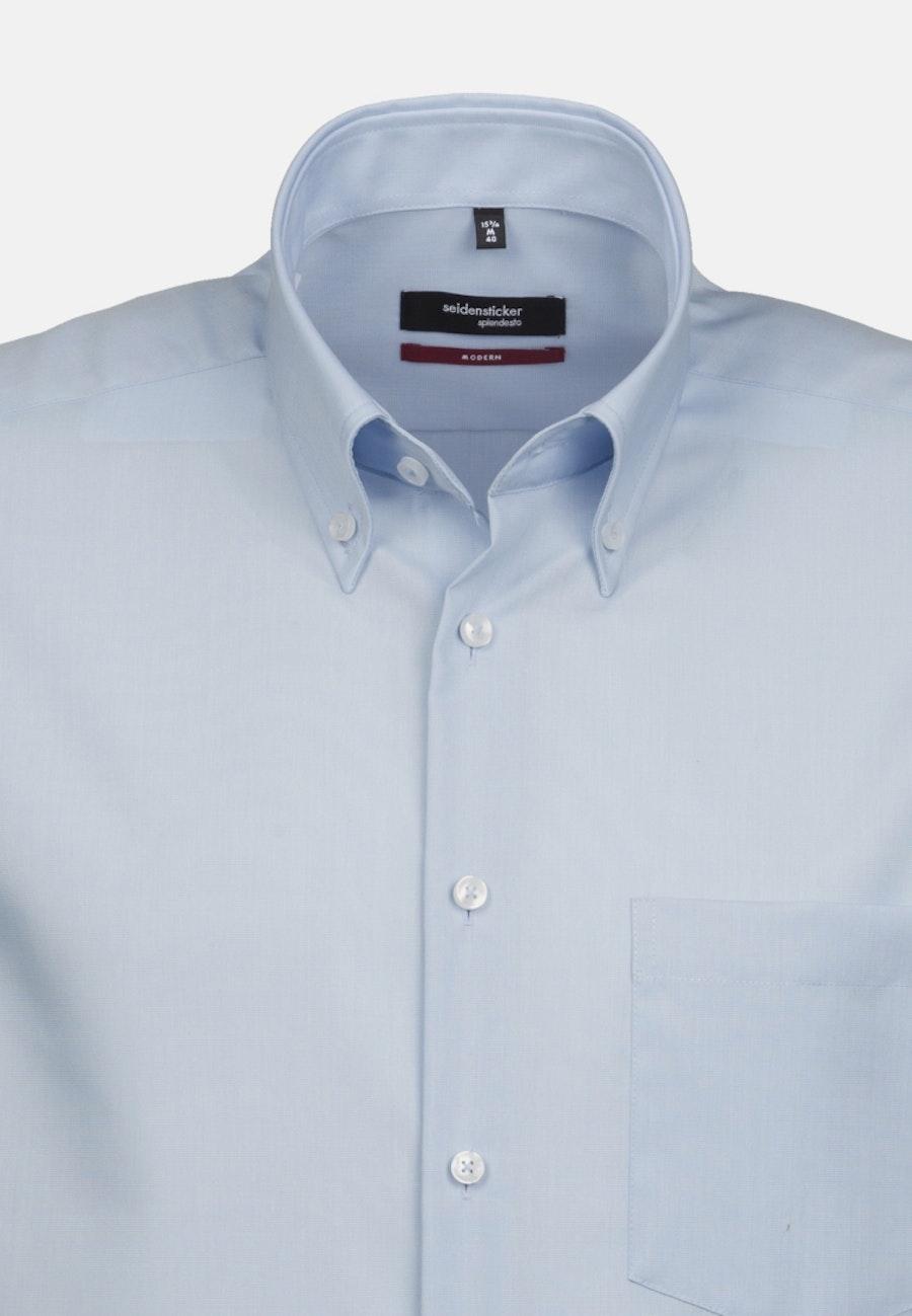 Non-iron Poplin Short sleeve Business Shirt in Regular with Button-Down-Collar in Red    Seidensticker Onlineshop