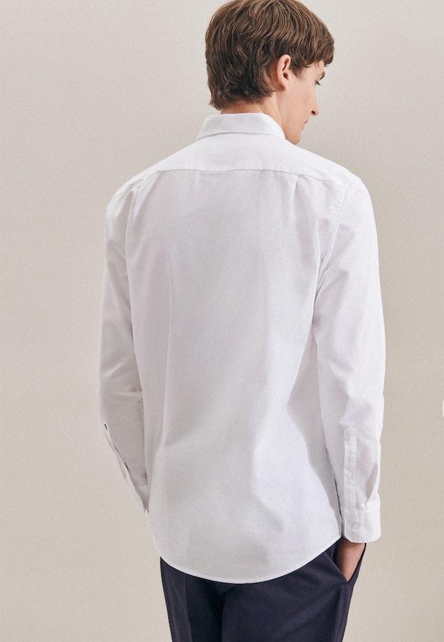 Easy-iron Oxford Business Shirt in Regular with Button-Down-Collar in White |  Seidensticker Onlineshop