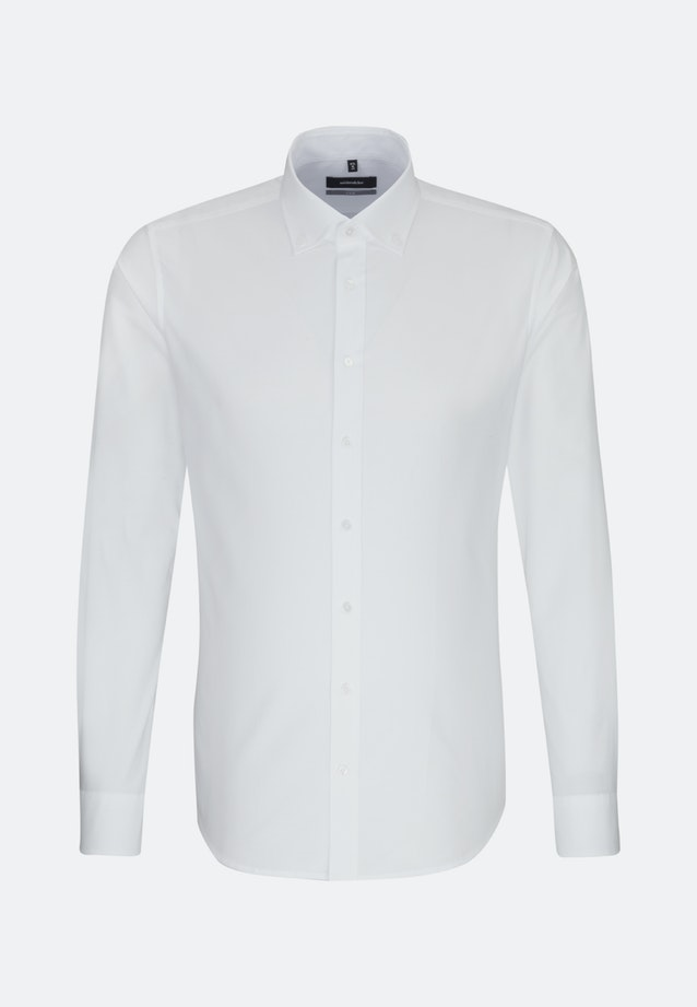 Easy-iron Oxford Business Shirt in X-Slim with Button-Down-Collar in White |  Seidensticker Onlineshop