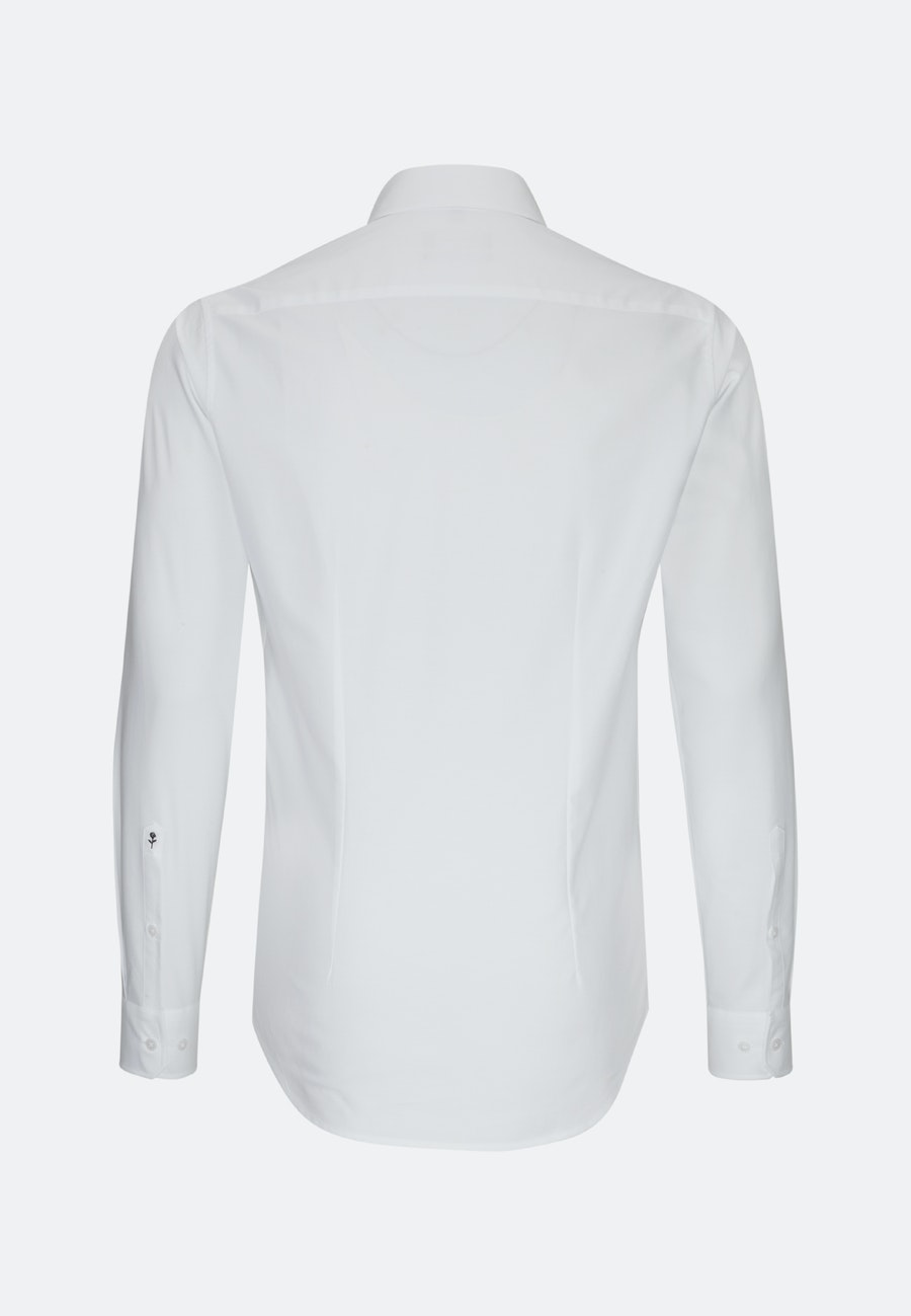 Easy-iron Oxford Business Shirt in X-Slim with Button-Down-Collar in White |  Seidensticker Onlineshop