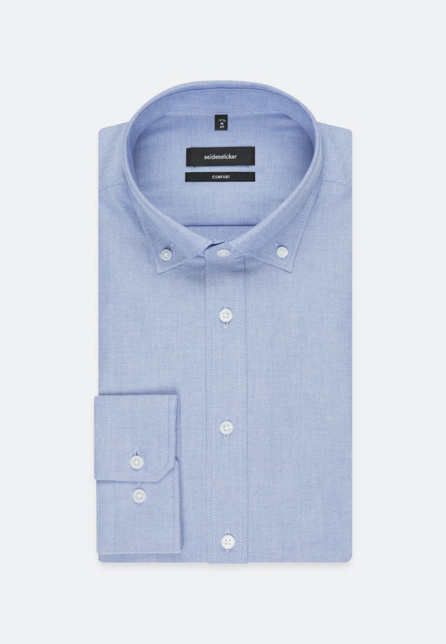 Oxford Business Hemd in Comfort mit Button-Down-Kragen in Hellblau |  Seidensticker Onlineshop