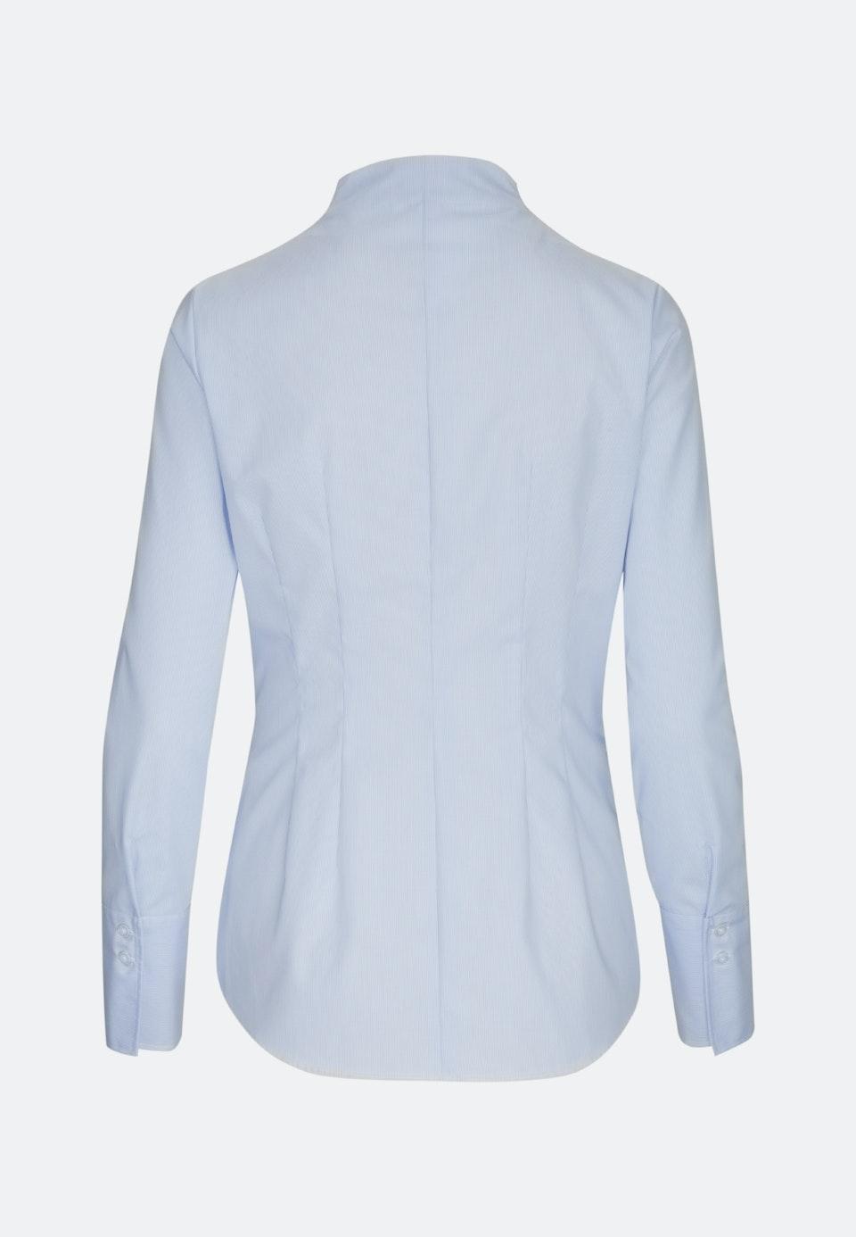 Non-iron Popeline Chalice Blouse made of 100% Cotton in Light blue |  Seidensticker Onlineshop