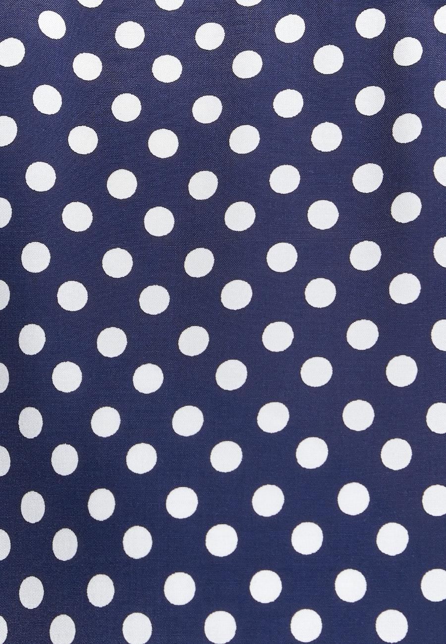 Sleeveless Voile Shirt Blouse made of 100% Viscose in Dark blue |  Seidensticker Onlineshop