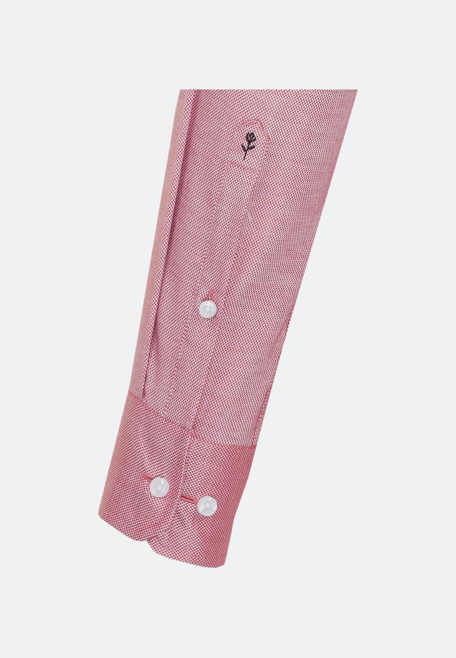 Non-iron Struktur Business Shirt in Slim with Kent-Collar in Red |  Seidensticker Onlineshop
