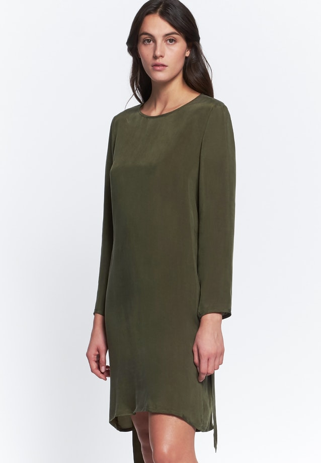 Midi Dress made of rayon blend in Green |  Seidensticker Onlineshop