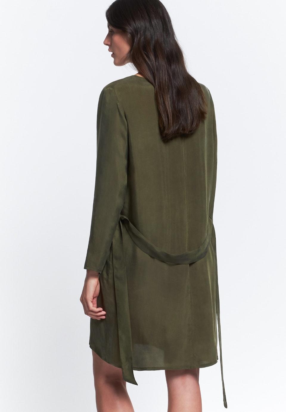 Midi Dress made of rayon blend in Green |  Seidensticker Onlineshop