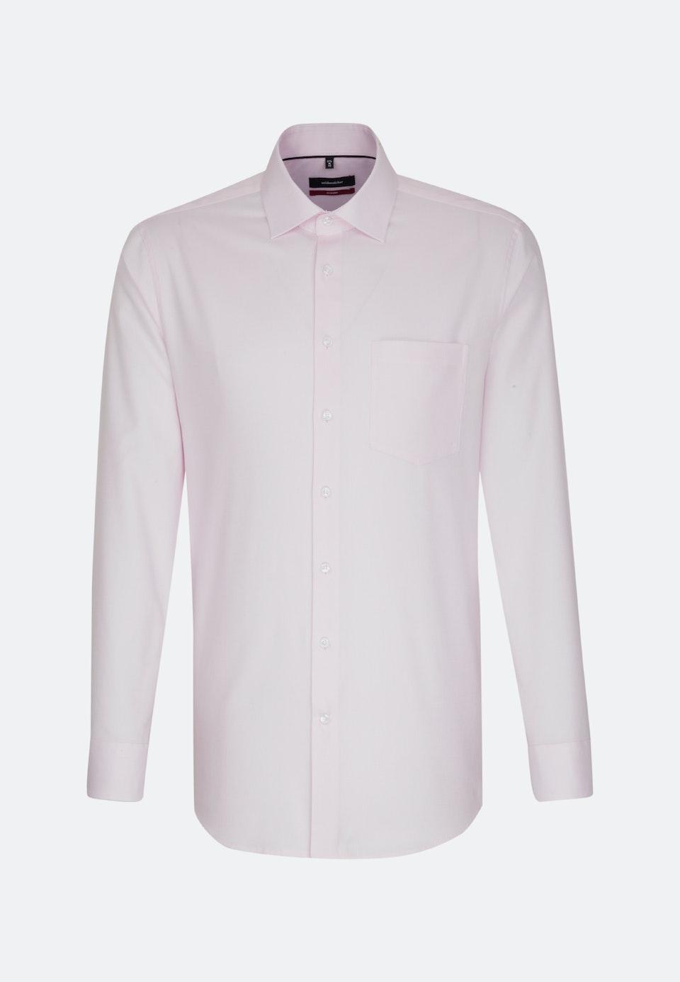 Non-iron Struktur Business Shirt in Regular with Kent-Collar in Pink |  Seidensticker Onlineshop
