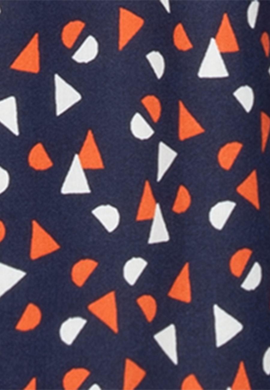 Poplin Midi Dress made of 100% Viscose in Dark blue |  Seidensticker Onlineshop
