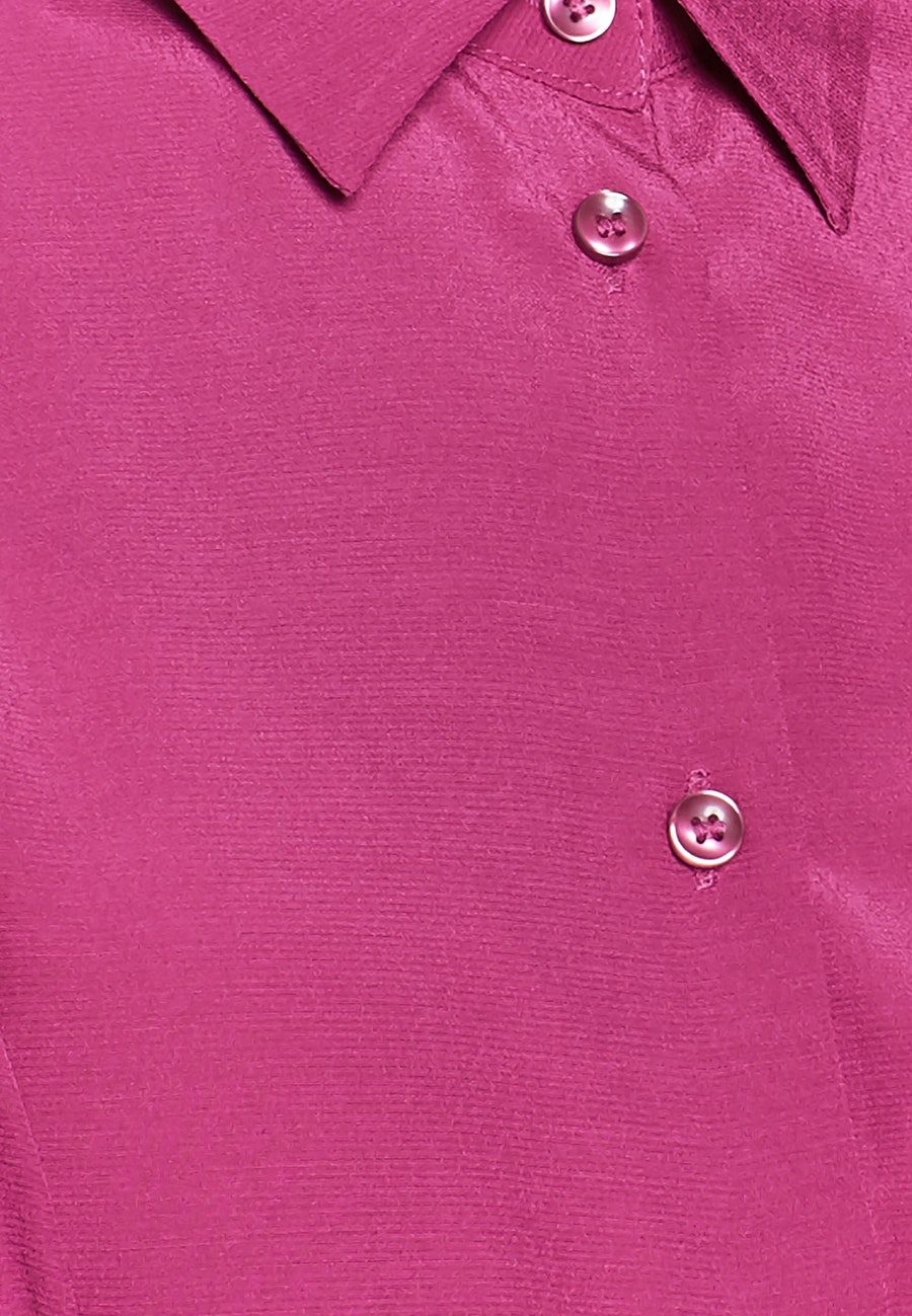 Crepe Shirt Blouse made of 100% Viscose in Pink |  Seidensticker Onlineshop