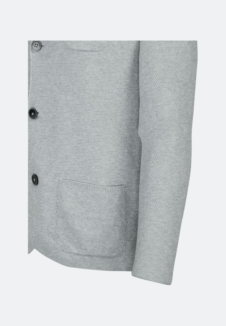 Jacket made of 100% Cotton in Grey |  Seidensticker Onlineshop