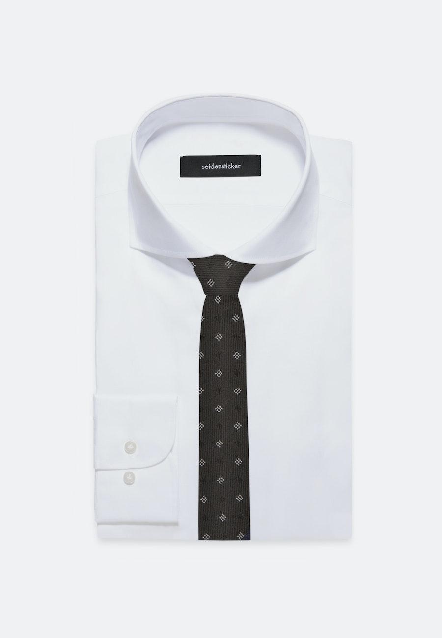 Tie made of 100% Silk 5 cm wide in Black    Seidensticker Onlineshop