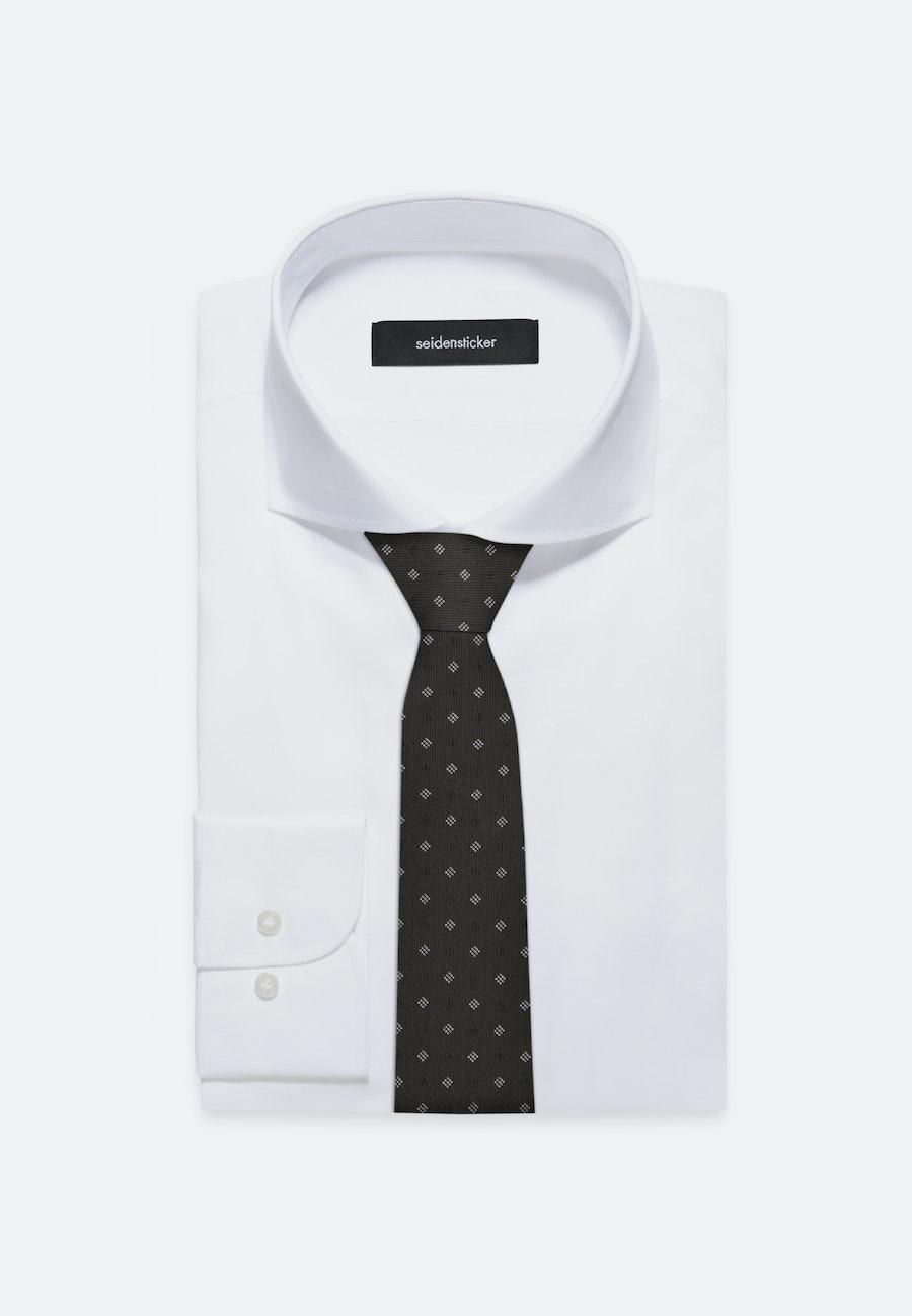 Tie made of 100% Silk 7 cm wide in Black    Seidensticker Onlineshop