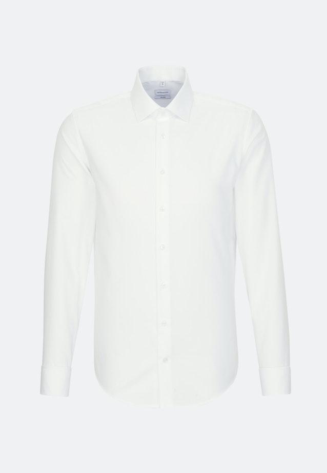 Non-iron Poplin Business Shirt in Shaped with Kent-Collar in Brown |  Seidensticker Onlineshop
