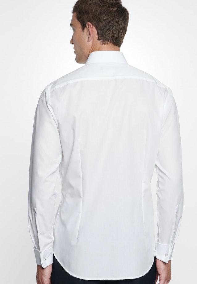 Non-iron Poplin Business Shirt in Shaped with Kent-Collar in White |  Seidensticker Onlineshop