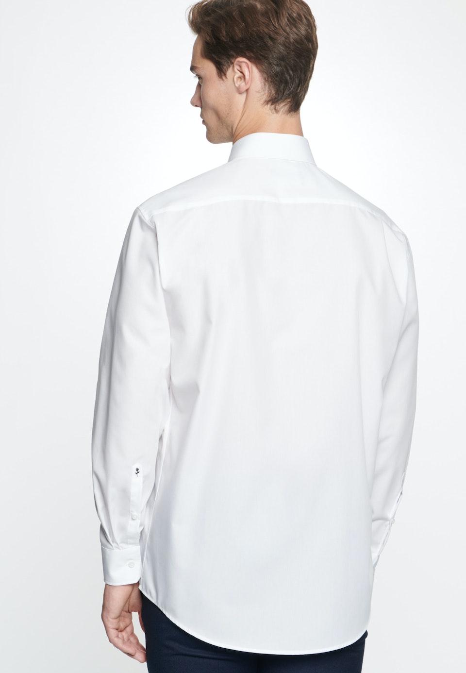 Bügelfreies Popeline Business Hemd in Comfort mit Kentkragen in Weiß |  Seidensticker Onlineshop