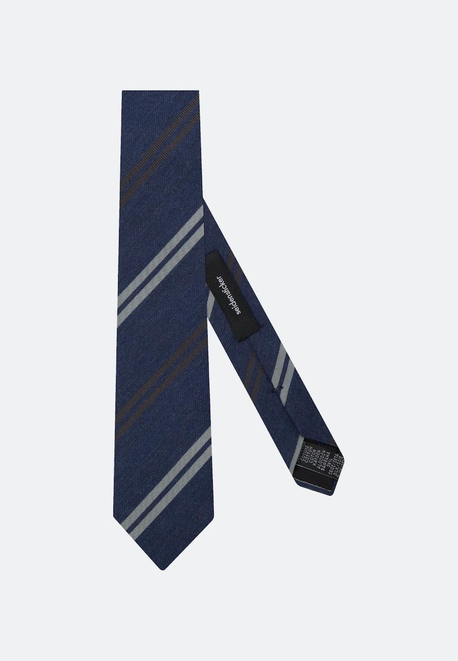 Tie Large (7Cm) in Dark blue |  Seidensticker Onlineshop