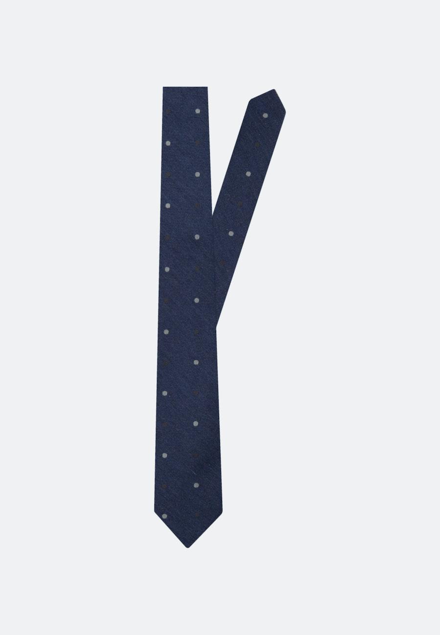 Tie made of Silk Blend 7 cm wide in Dark blue    Seidensticker Onlineshop