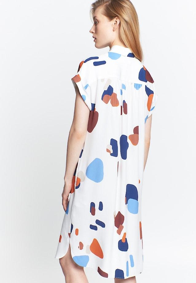 Sleeveless Crepe Midi Dress made of 100% Viscose in Medium blue |  Seidensticker Onlineshop