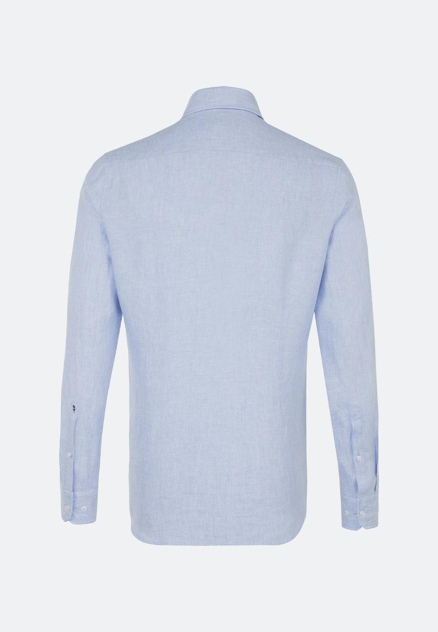 Twill Business Hemd in Shaped mit Kentkragen in Hellblau |  Seidensticker Onlineshop