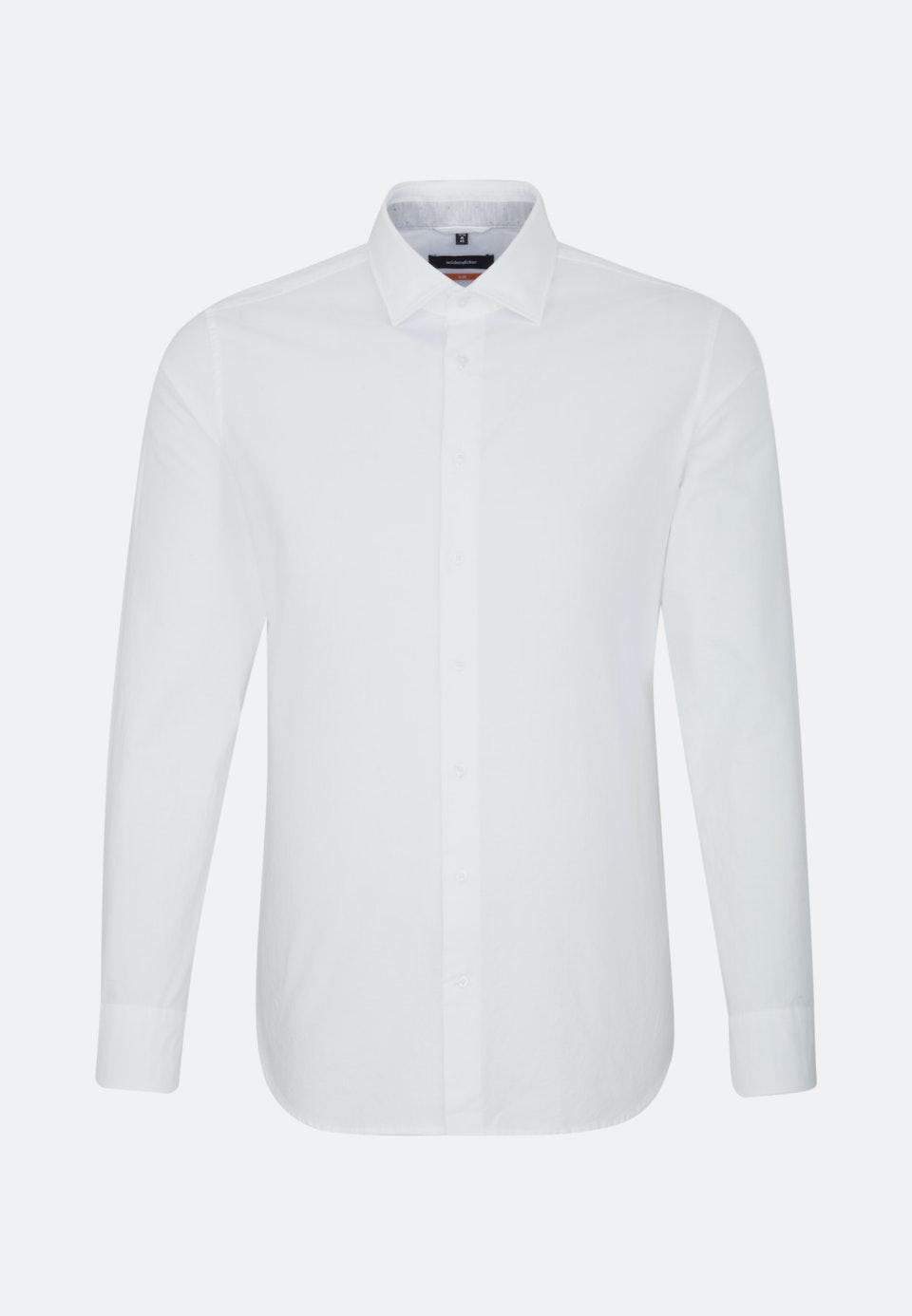 Easy-iron Oxford Business Shirt in Slim with Kent-Collar in White |  Seidensticker Onlineshop