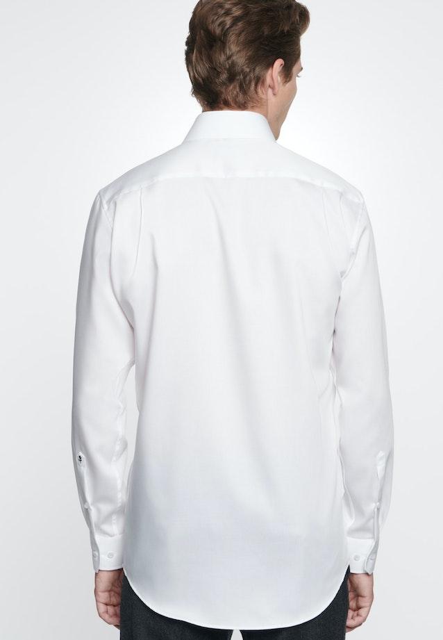 Non-iron Twill Business Shirt in Comfort with Kent-Collar in White |  Seidensticker Onlineshop