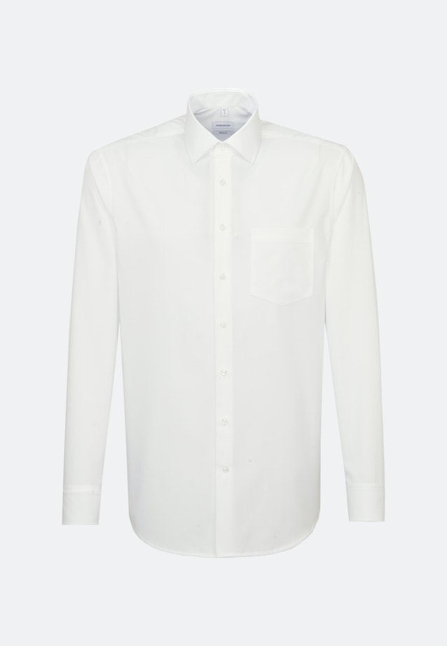 Non-iron Popeline Business Shirt in Regular with Kent-Collar in Brown |  Seidensticker Onlineshop