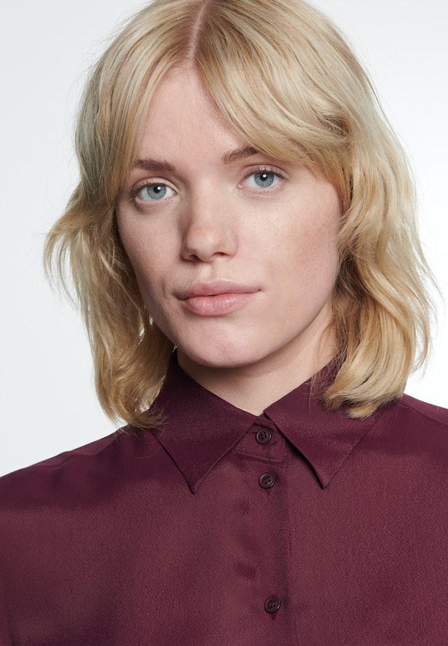 Krepp Shirt Blouse made of 100% Viscose in Red    Seidensticker Onlineshop