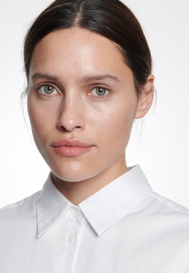 Twill Hemdbluse aus 100% Baumwolle in Weiß    Seidensticker Onlineshop