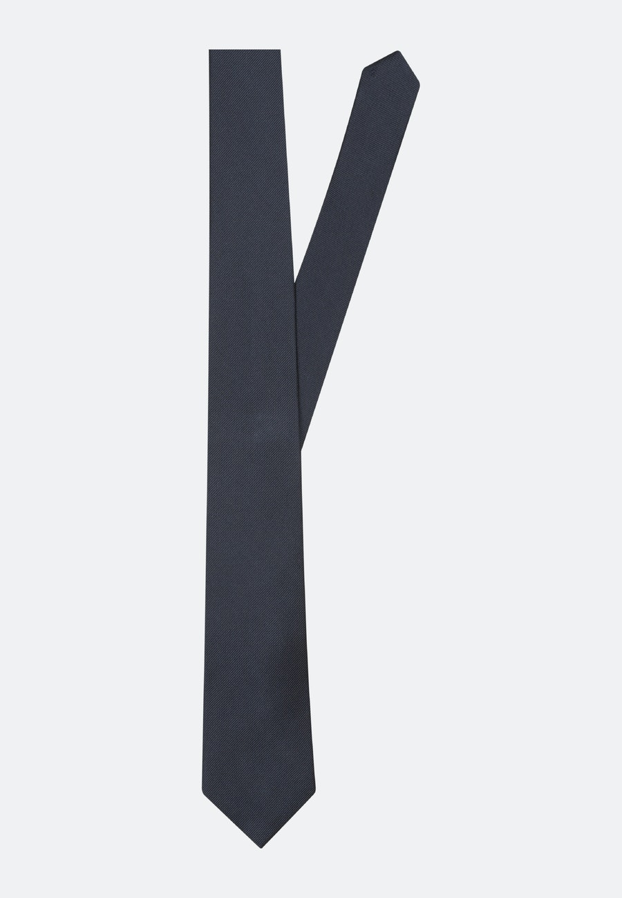 Tie made of 100% Silk 7 cm wide in Dark blue |  Seidensticker Onlineshop