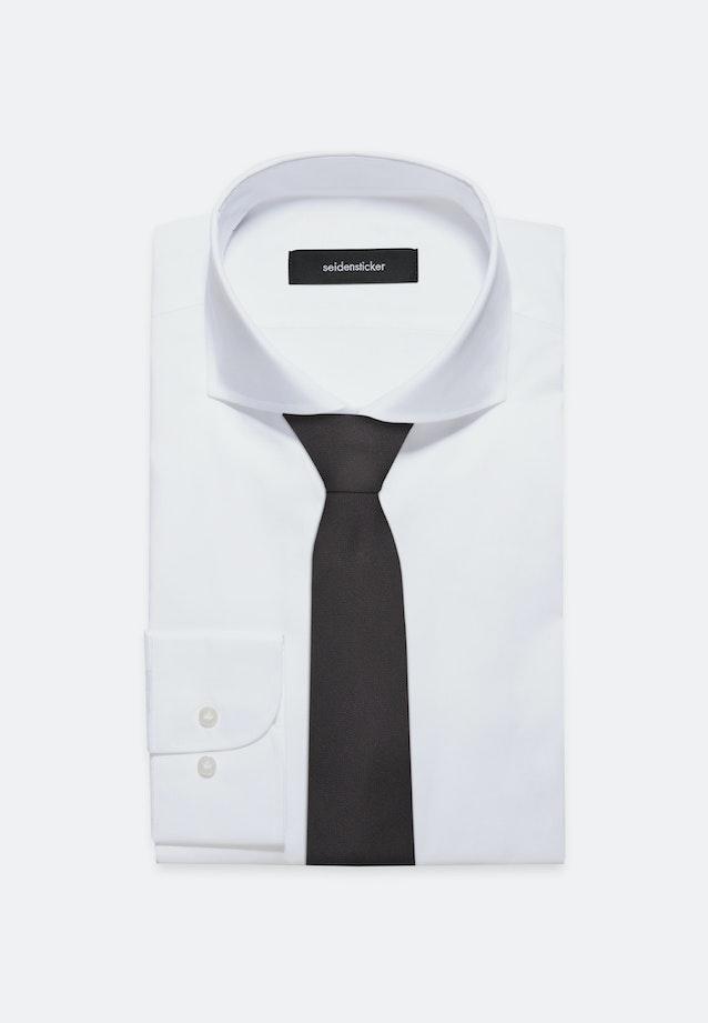 Krawatte aus 100% Seide 7 cm Breit in Schwarz    Seidensticker Onlineshop