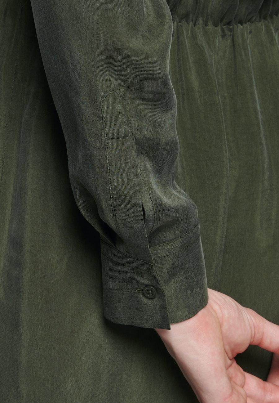 Midi Dress made of rayon blend in Green    Seidensticker Onlineshop