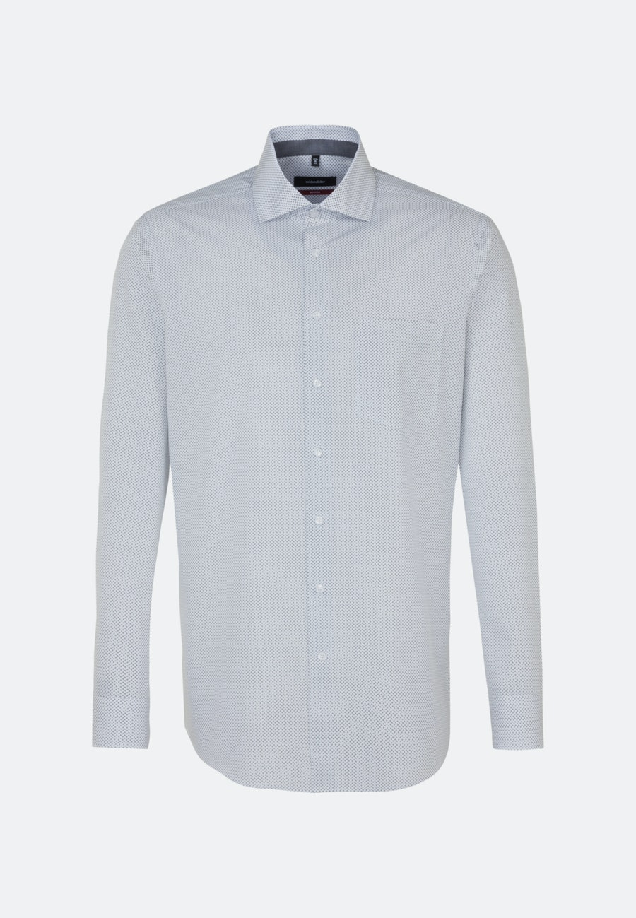 Easy-iron Poplin Business Shirt in Regular with Kent-Collar in White |  Seidensticker Onlineshop
