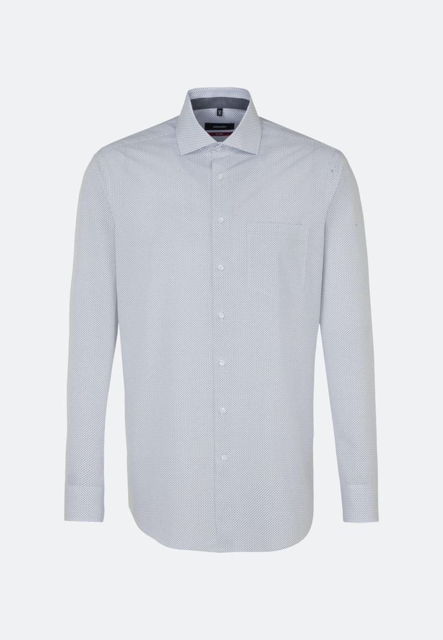 Popeline Business Hemd in Regular mit Kentkragen in Weiß    Seidensticker Onlineshop