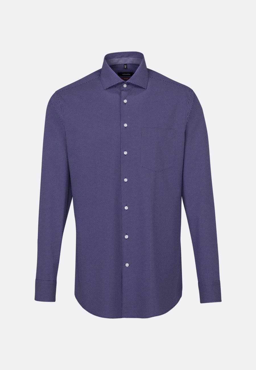 Easy-iron Poplin Business Shirt in Regular with Kent-Collar in Purple |  Seidensticker Onlineshop